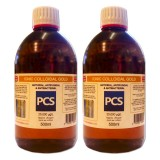 2 x Premium Colloidal Gold 25ppm - 500ml [2 For 1 Deal]